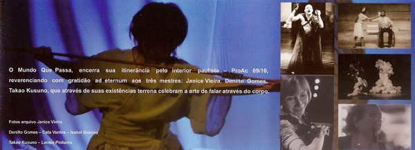 Folder Homenagem A Denilto Gomes Setembro 2011