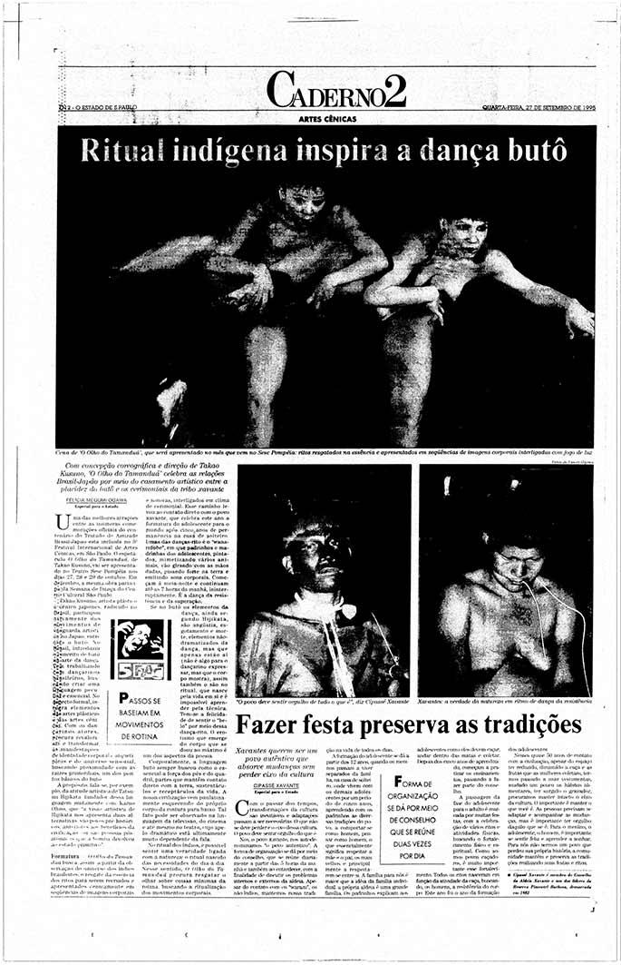 1995 0927 Ritual Indigena Inspira Danca Buto